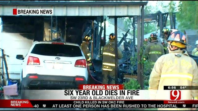 Child Killed In SW OKC House Fire, Explosion