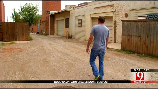 Man Chases Rape Suspect In Downtown OKC