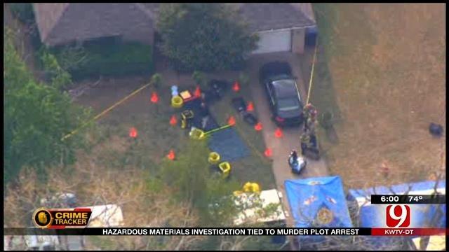 Hazardous Materials Investigation Tied To Murder Plot Arrest