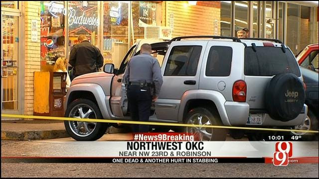One Dead After Stabbing In NW OKC, Suspect In Custody