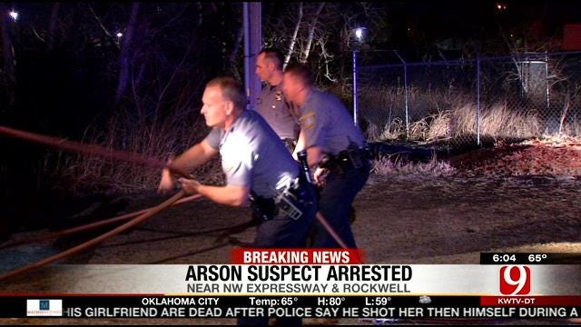 Arson Suspect Arrested Following Multiple Fires in NW OKC