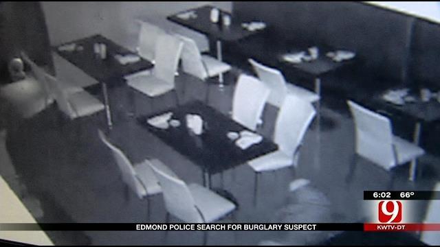 Edmond Police Hope Surveillance Footage Helps Catch Crafty Burglar