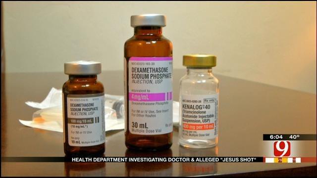 """Oklahoma Medical Board Investigates """"Jesus Shot"""""""