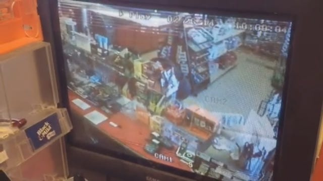 Caught On Camera: NW OKC Convenience Store Robbery