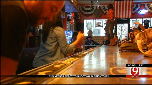 Bricktown Businesses Remain Open After Deadly Shooting Outside Club