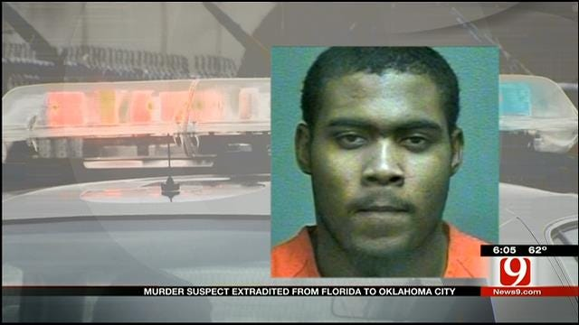 Murder Suspect Extradited From Florida To OKC