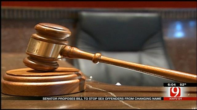 Bill Proposed To Thwart OK Sex Offenders From Changing Name