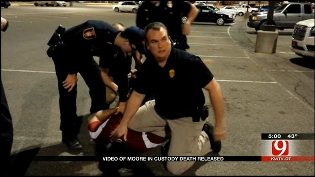 Cell Phone Video Released In Moore In-Custody Death Case