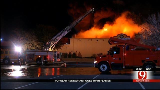 On The Border Restaurant Burns In Norman