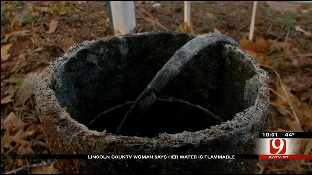 Lincoln County Woman Says Her Tap Water Is Flammable