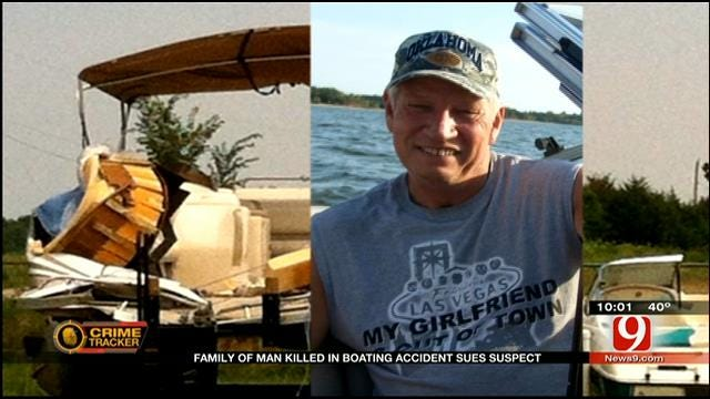OKC Family Helpless After Fatal Hit-And-Run Boating Accident