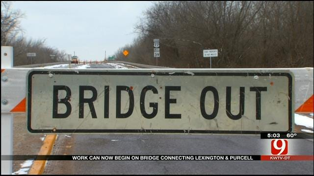 Contract Awarded To Repair Lexington-Purcell Bridge