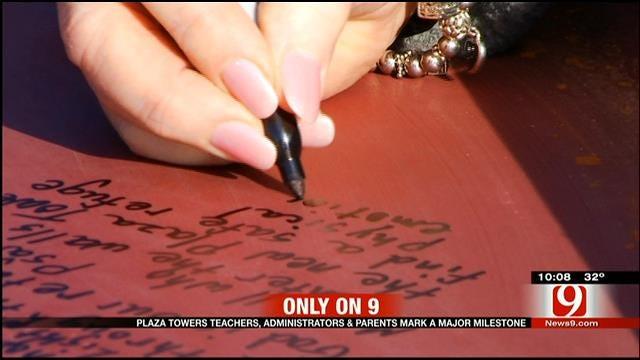 Plaza Towers Teachers, Administrators, Parents Mark Major Milestone