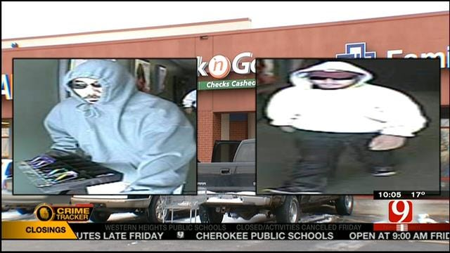 Suspects Sought In Armed Robbery At Norman Check Cashing Business