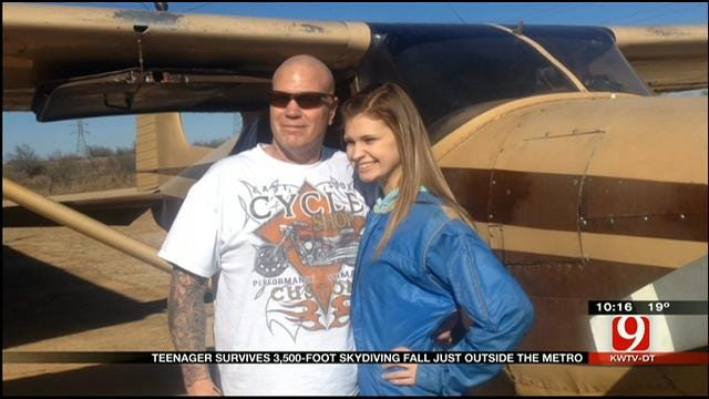 Teenager Survives 3,500 Foot Fall In Chickasha