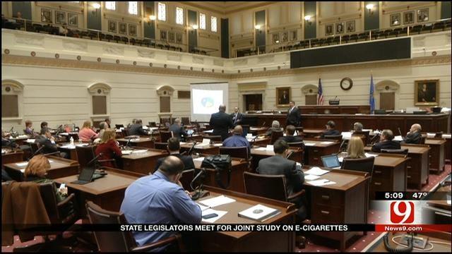 E-Cigarette Debate Continues In Oklahoma Senate