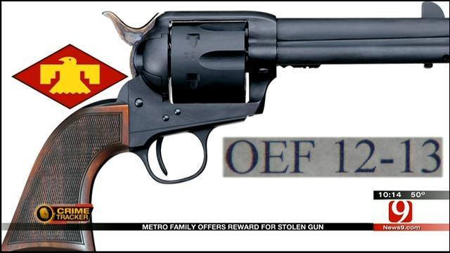 Metro Family Offers Reward For Stolen Gun