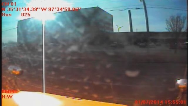WEB EXTRA: Footage From School Bus Dash Cam