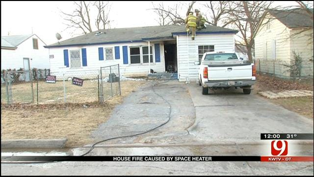Family Of 10 Escapes House Fire In NE OKC