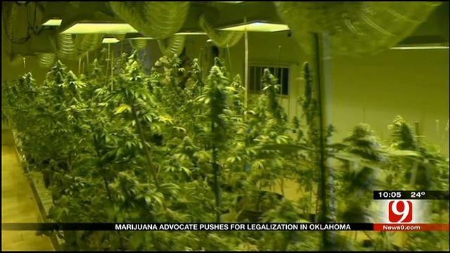 Marijuana Advocate Pushes For Legalization In Oklahoma