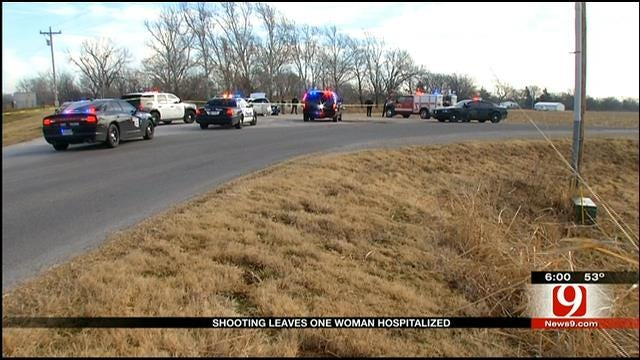 Police Investigate Shooting In McClain County