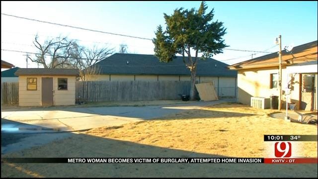 OKC Woman Victim Of Same-Day Burglary, Attempted Home Invasion