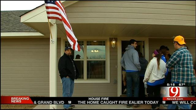 New Home For Carney Family Affected By May 19 Tornado