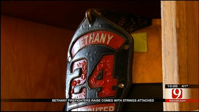 Bethany Firefighters' Raise Comes With Strings Attached