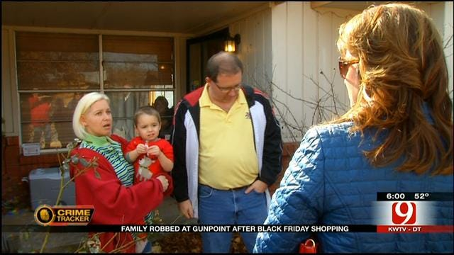 Family Carjacked At Gunpoint Outside OKC Mall On Black Friday