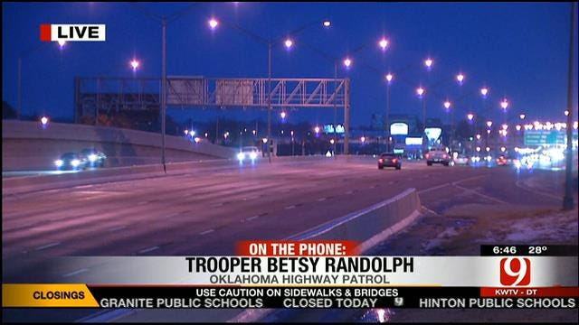 OHP Calls In Help To Handle Multiple Accidents Across Metro