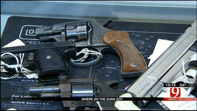 News 9 Looks Into What Happens To Guns Seized By Oklahoma Police