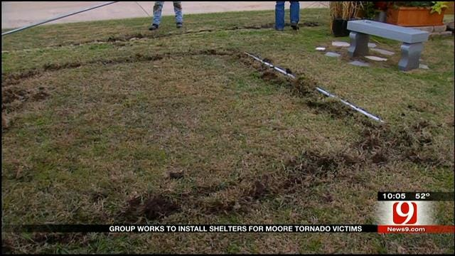 Texas Church Group Donates Storm Shelters To Moore Families