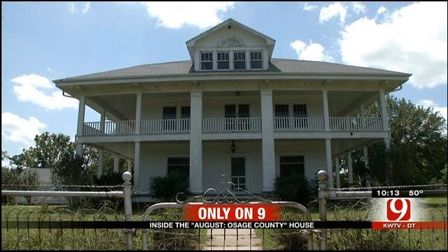 Inside The House That Plays Starring Role In 'August: Osage County'
