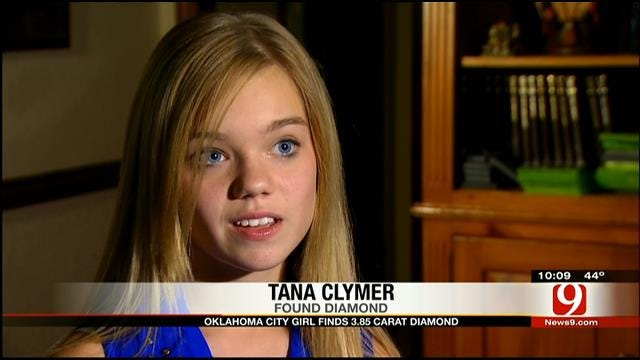 OKC Teen Speaks About Finding Large Diamond During Dig In Arkansas
