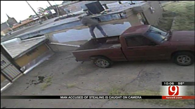 Man Caught On Camera Stealing From Businesses In Capitol Hill District