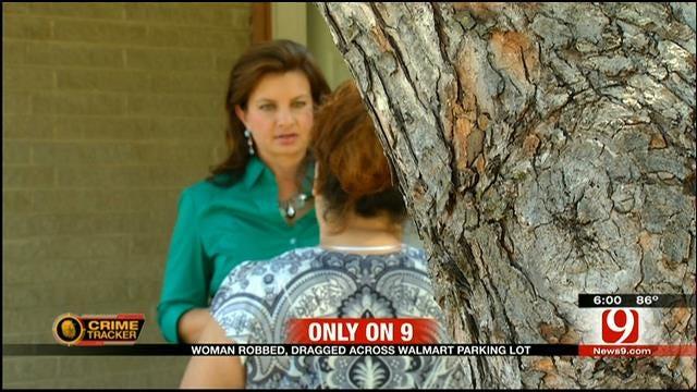OKC Police Release Surveillance Video Of Accused Purse Snatcher