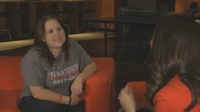 WEB EXTRA: Plaza Towers Mother Talks About Son's Soccer Number