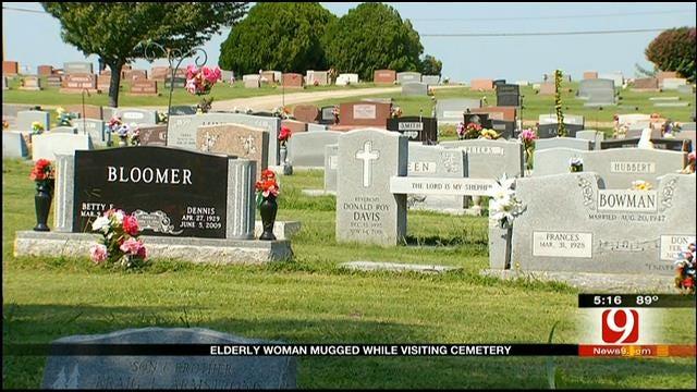 Bethany Woman Mugged At Cemetery Visiting Husband's Grave