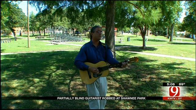Guitarist Beaten, Robbed In Shawnee Park