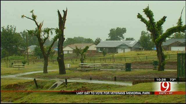 Moore Park Destroyed By Tornado Needs Votes In National Contest