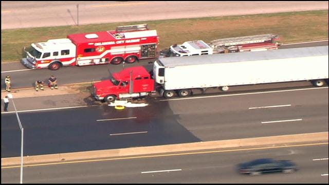 WEB EXTRA: SkyNews 9 Flies Over Chemical Spill In NE OKC