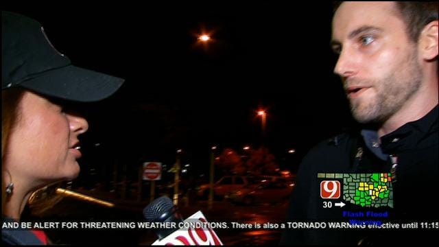 News 9 Visits OU Medical Center To Get Injury Numbers