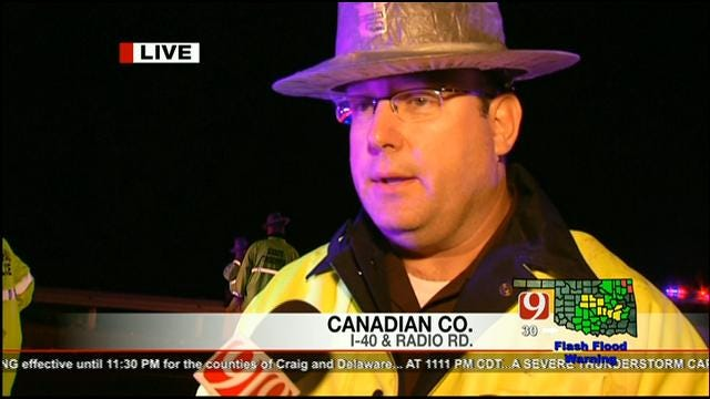 OHP Captain Talks About Clearing Damage From I-40