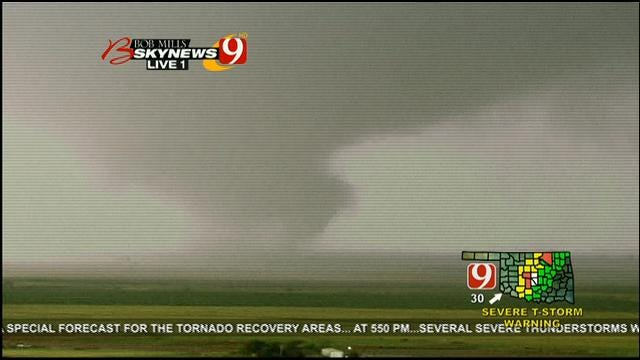 Multiple Tornadoes Touch Down Near OKC Metro
