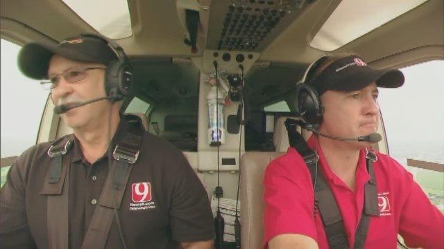 David Payne, Jim Gardner Tour Tornado Damage In Moore