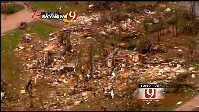 News 9 Pilot Jim Gardener Talks About Aerial Coverage Of Outbreak