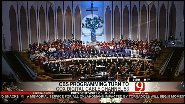 Thousands Attend Moore Prayer Service