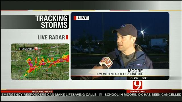 Weather Chaser Speaks About Massive Moore Tornado