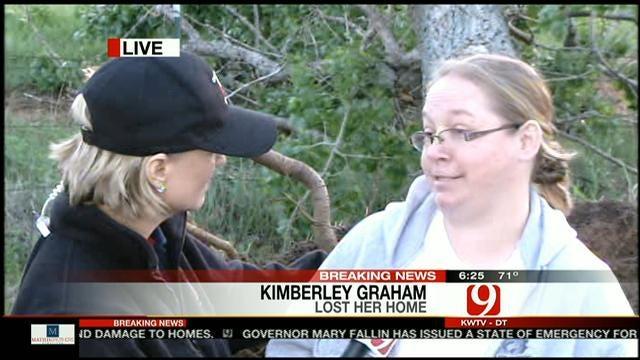 Woman Loses Home In Bethel Acres Tornado