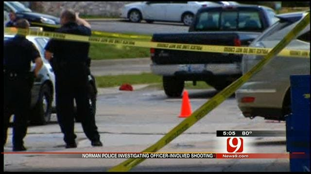Norman Police Officer Shoots Suspect At Gas Station